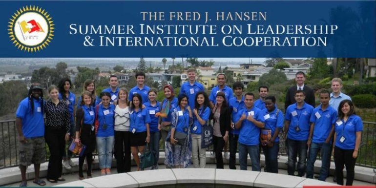 Hansen Summer Institute Program 2018 in USA | Fully Funded