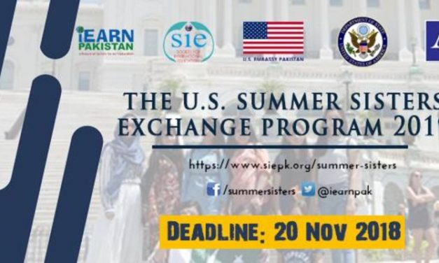 Fully Funded US Summer Sisters Exchange Program 2019