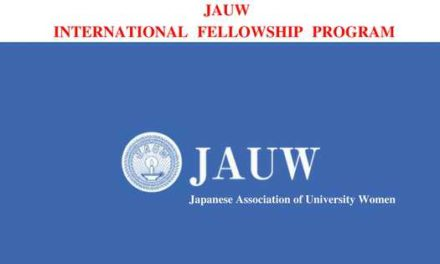 JAUW International Fellowship Program 2018