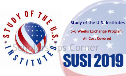 SUSI 2019 [Fully Funded] SUSI Exchange Program Pakistan 2019 in USA