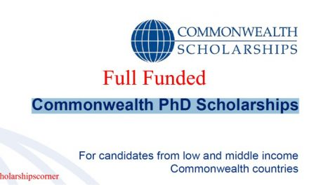 Commonwealth PhD Scholarships 2019 for Low and middle Income Commonwealth Countries | Fully Funded