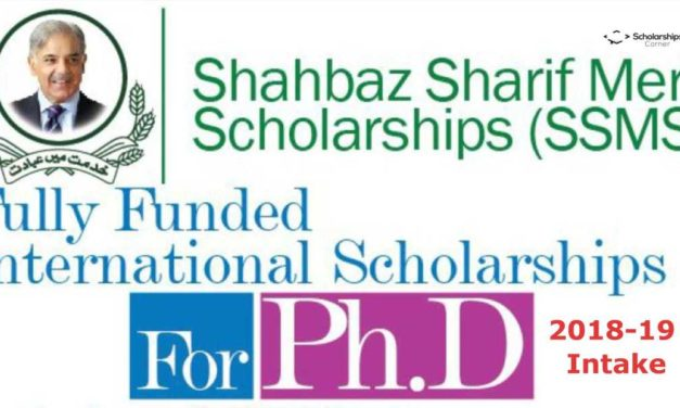 Fully Funded International PhD Scholarships 2018-19 for Pakistani Students
