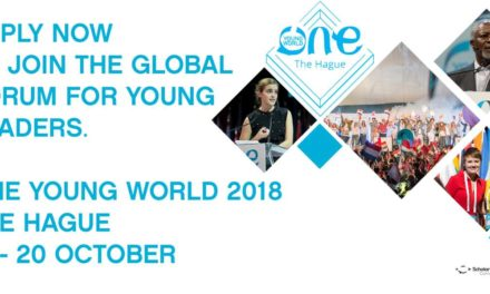 Fully Paid One Young World Summit 2018 in Netherlands