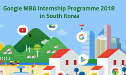 Google MBA Summer Internship Programme 2018 in South Korea