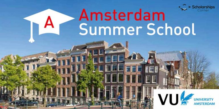 VU Amsterdam Summer School Scholarships 2018 in Netherlands
