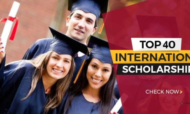 Top 40 Scholarships for International Students