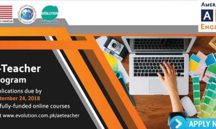 American English E-Teacher Program 2018 | Fully Funded Online Courses