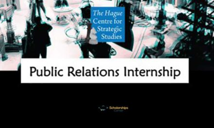 HCSS Public Relations Internship 2018 in Netherlands