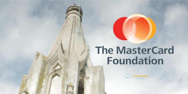 MasterCard Foundation Scholarship Award 2018 for African Countries