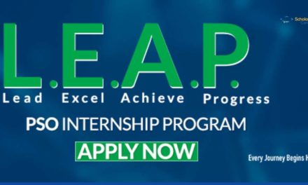 PSO Internship Program 2018 | LEAP Internship Program