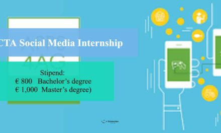 Paid CTA Social Media Internship 2018 in Netherlands