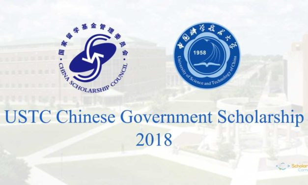 USTC Chinese Government Scholarship 2018 | Fully Funded