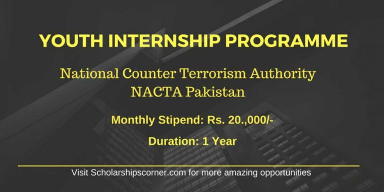 NACTA Youth Internship Programme 2018 | Government of Pakistan