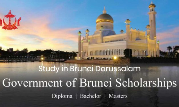 2018/2019 Brunei Darussalam Scholarship for the International Students