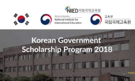 Fully Funded Korean Government Scholarship Program (KGSP) 2018