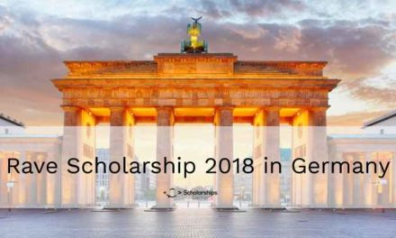 Fully Funded Rave Scholarship 2018 in Germany