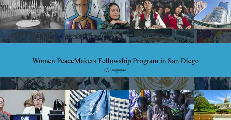 Fully Funded Women Peacemakers Fellowship Program In San