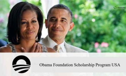 Obama Foundation Scholarship Program 2018 in USA