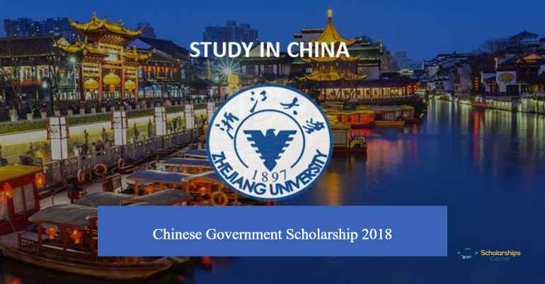 Zhejiang University Chinese Government Scholarship 2018 | Fully Funded