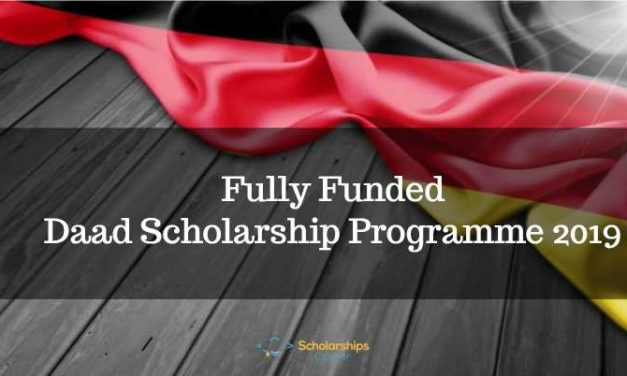 Fully Funded DAAD Scholarship Programme 2019