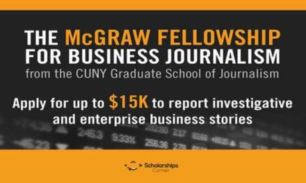The McGraw Fellowship for Business Journalism in New York