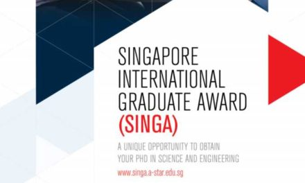 Singapore International Graduate Award (SINGA) – Fully Funded