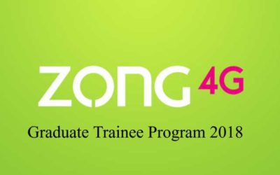 Zong 4G Graduate Trainee Program 2018 | Leaders in the Making
