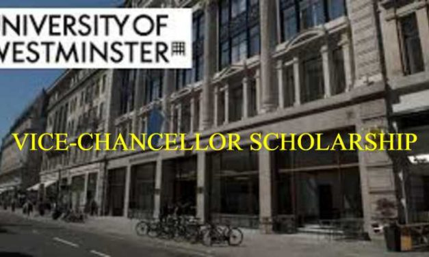 Fully Funded Vice Chancellor Scholarship for Undergraduate Students in UK