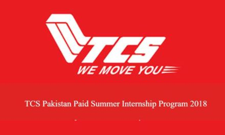 TCS Pakistan Paid Summer Internship Program 2018 – TCS Internship