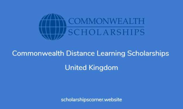 Commonwealth Distance Learning Scholarships 2018 in UK