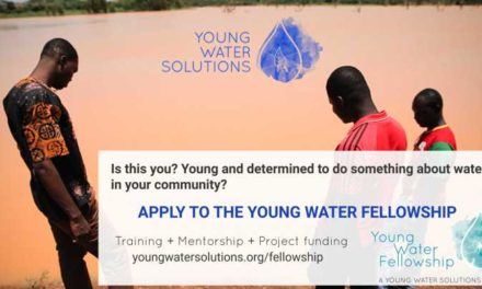 Young Water Fellowship Programme 2018 for Young Leaders | Fully Funded