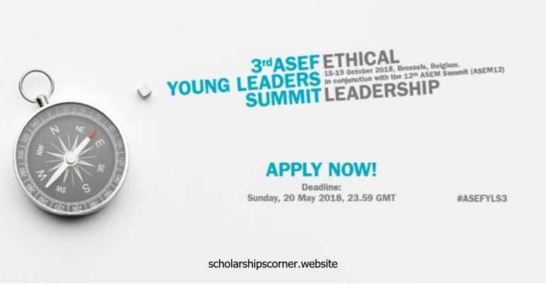 3rd ASEF Young Leaders Summit in Belgium – Fully Funded