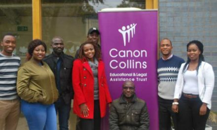 Canon Collins Scholarships for Postgraduate Study in South Africa 2018