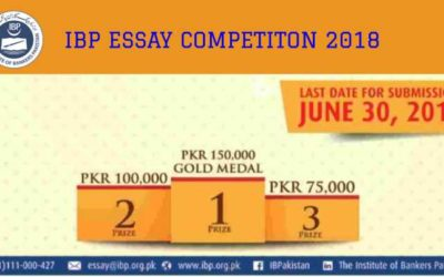 Institute of Bankers Pakistan IBP Essay Competition 2018