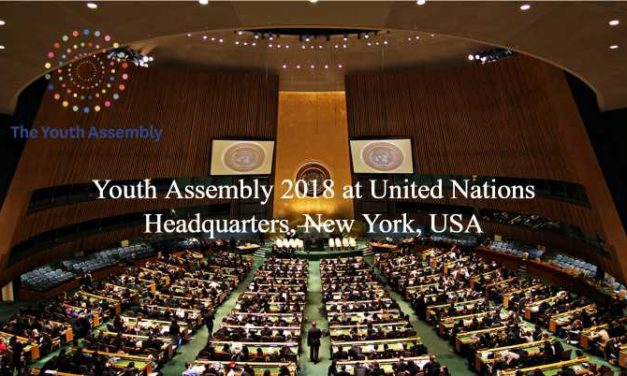Youth Assembly 2018 at United Nations Headquarters, New York, USA