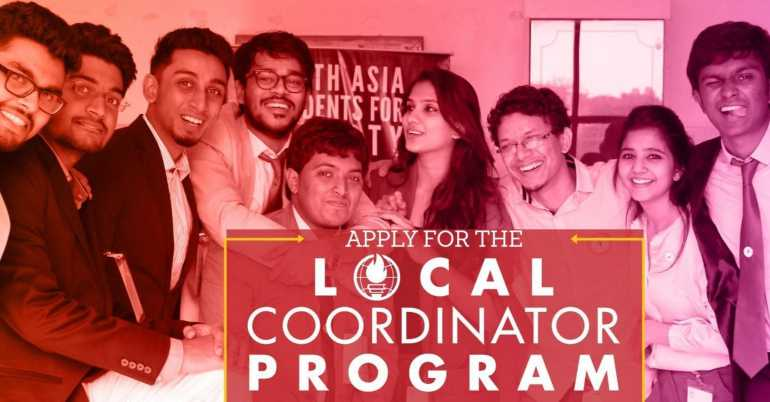 Students For Liberty South Asia Local Coordinator Program (Fully Funded)