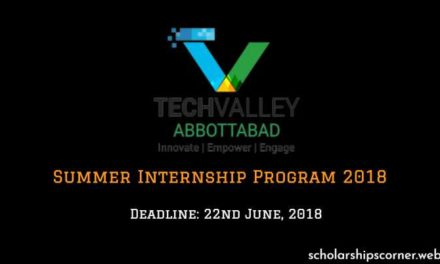 Tech Valley Abbottabad – Tech Valley Summer Internship Program 2018