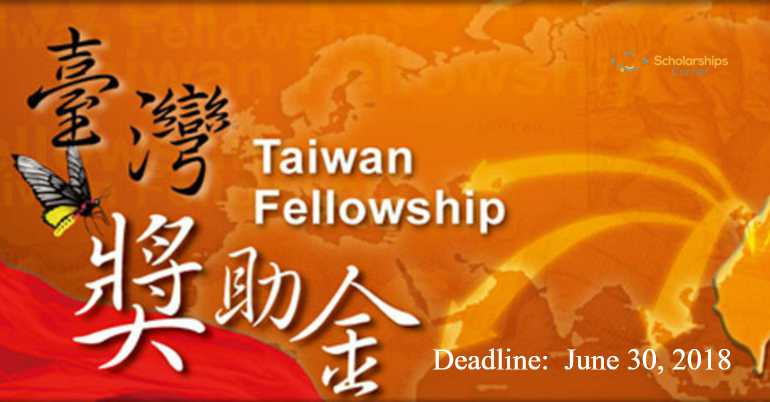 MOFA Taiwan Fellowship  for Foreign Researchers 2018-2019