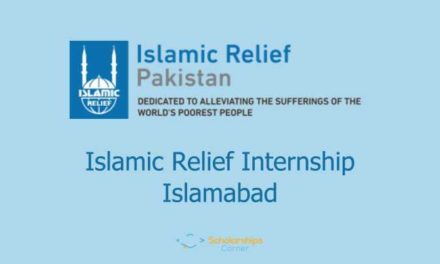Islamic Relief Pakistan Paid Internship 2018 – 15000/- Monthly Stipend