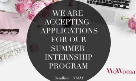 WoWoman Summer Internship Program 2018