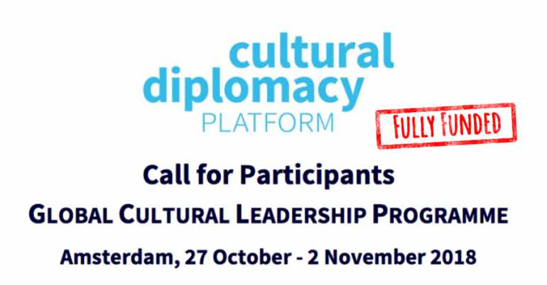 Fully Funded Global Cultural Leadership Programme 2018 in Netherlands – GCLP 2018