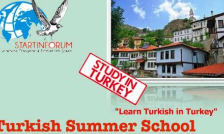 "Turkish Summer School ""Learn Turkish in Turkey"" by StartinForum (Self Funded)"