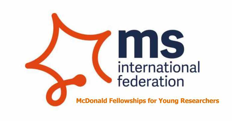 McDonald Fellowships for Young Researchers 2018 – Fully Funded