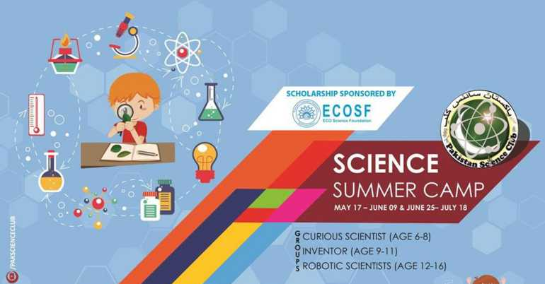 2018 STEM Summer Camp Karachi, Pakistan – Scholarship is Available