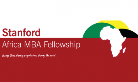 Stanford Africa MBA Fellowship Program 2019