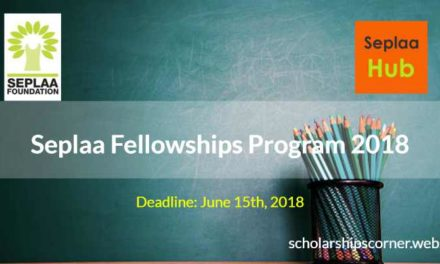 Seplaa Fellowships Program 2018 – Become a Seplaa Fellow