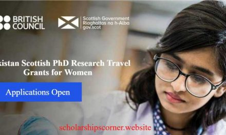 British Council Pakistan Scottish PhD Research Travel Grants for Women