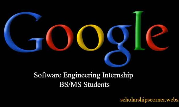 Paid Software Engineering Internship at Google in USA