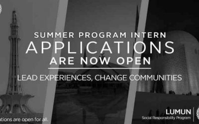LUMUN SRP Summer Internship & Summer Projects Intern 2018