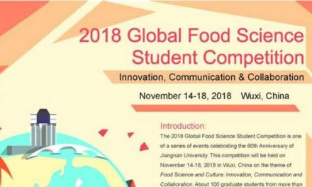 2018 Global Food Science Student Competition in China (Fully Funded)